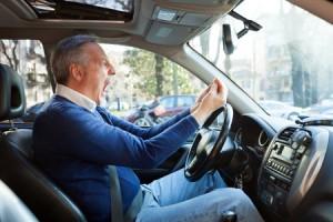 I bilen kjenner vi ofte på sinne, det er et godt sted å gjøre seg kjent med følelsen.