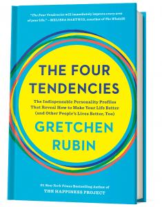 Bilde av boken The Four Tendencies.